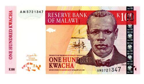 Malawi ... P-46a ... 100 Kwacha ... 2001 ... Gem*UNC*.
