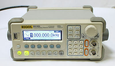 Rigol Dg1022 2ch 20mhz 100msas Function Arbitrary Waveform Generator Qty