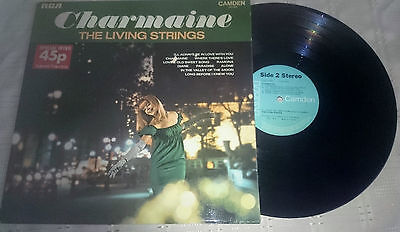LIVING STRINGS Charmaine LP 10 Track (cds1020) UK Camden 1969 £4.49
