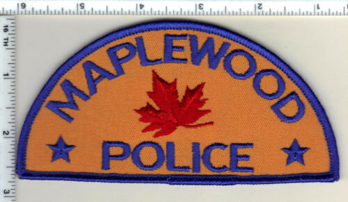 Maplewood Police (Minnesota)  Shoulder Patch  - new from 1991