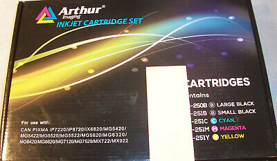 21 Pc ARTHUR IMAGING Compatible Cartridge Replacement Canon Pixma Printer Ink  for sale  Shipping to India