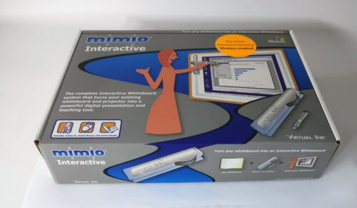 MIMIO USB Interactive Whiteboard Capture Kit Virtual Ink Wireless- New Open Box