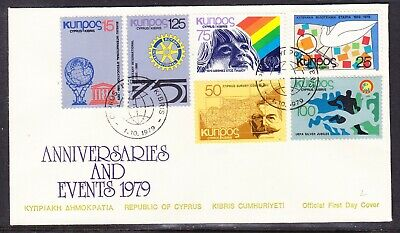 Cyprus 1979 Anniversaries & Events First Day Cover for sale  Shipping to United States