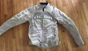 Manteau de moto pour femme ICON small