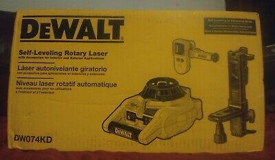 Dewalt Self Leveling Rotary Laser Dw074kd