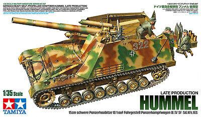 Tamiya Dt. Panzer Haubitze Hummel (3)Sp.Prod. 1:35 Plastik Model Bausatz 35367