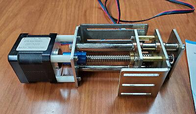 Precision Cnc Z-axis T8-z60 Linear Slide Acme Screw High-torque Stepper Motor