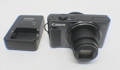 Canon PowerShot SX620 HS 20.2MP Digital Camera - Black