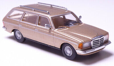 H0 BUSCH Personenkraftwagen Mercedes Benz 123 T Kombi metallic champagner 46844