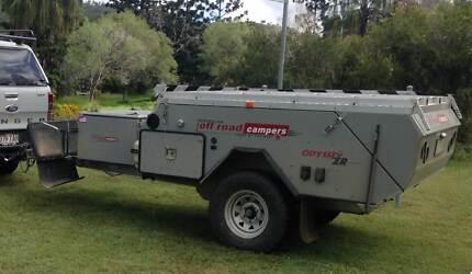 AOR Australian Off Road Odyssey ZR. Hard Floor Camper Trailer