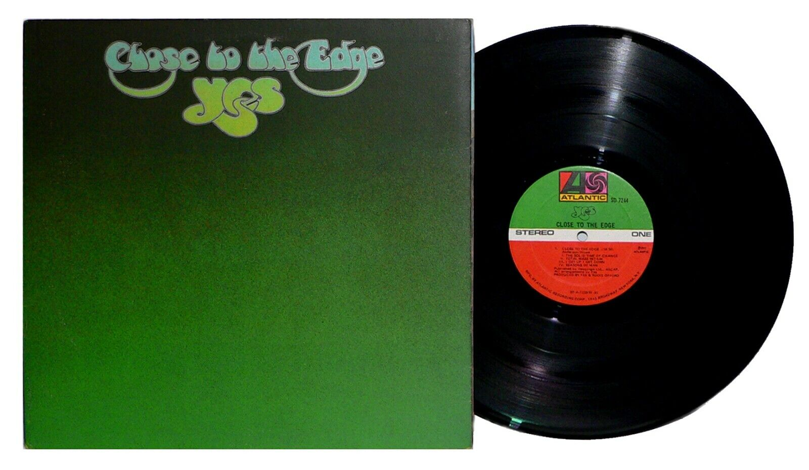 YES - Close To The Edge LP Original Gatefold Vinyl And You And I VG  - $13.99