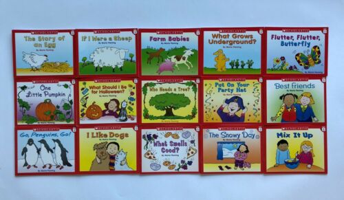 Leveled Readers Lot 60 Children's Books Kindergarten First Grade Homeschool
