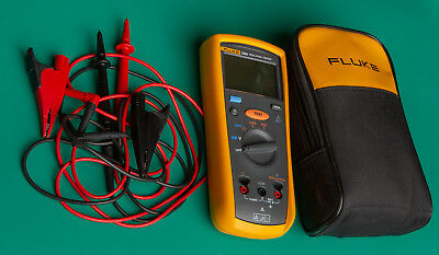 Fluke 1503 Insulation Resistance Tester W Test Leads And Soft Carrying Case