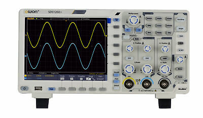 Owon Sds1202 Oscilloscope 2channel Digital 200mhz Bandwidth High Accuracy 1gss