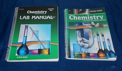 A Beka Chemistry Precision & Design Teacher Guide and Lab Manual Second (Chemistry Teachers Guide)