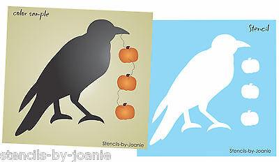 Primitive Crow Stencil 6