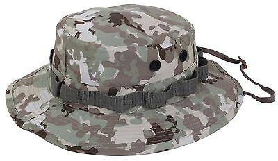 Terrain Bucket - Total Terrain Camouflage Cotton Boonie Bucket Hat w Chin Strap Rothco 55839