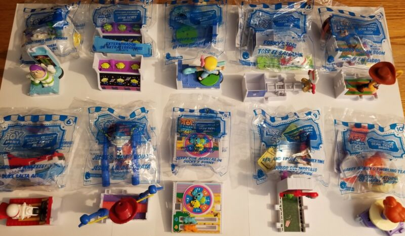 Toy Story 4 McDonalds Happy Meal Toys Pick! Complete 1-10