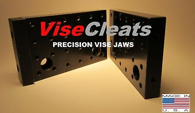 Visecleats Model 500 Hardened Precision Ground Tall Jaws For Kurt 6vises