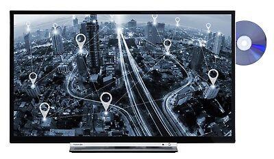 Toshiba 32D3763DA 32 Zoll Fernseher Smart TV - HD ready Triple Tuner DVD Player