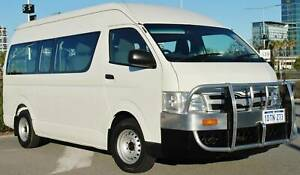 2011 Toyota Hiace Commuter Diesel Bus High Roof Upgrade Model Welshpool Canning Area Preview