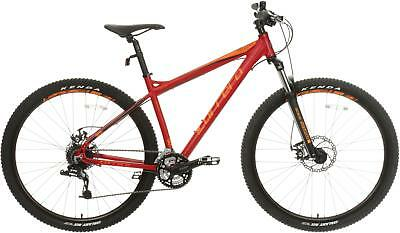 Carrera Hellcat Mens Mountain Bike MTB Alloy Frame Disc Brakes Bycicle 24 Gears
