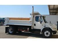 FREIGHTLINER DUMP TRUCK CUMMINS AUTO 33,000# peterbilt kw international ford gmc