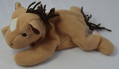 Ty Beanie Baby Derby Horse with Yarn Mane Plush