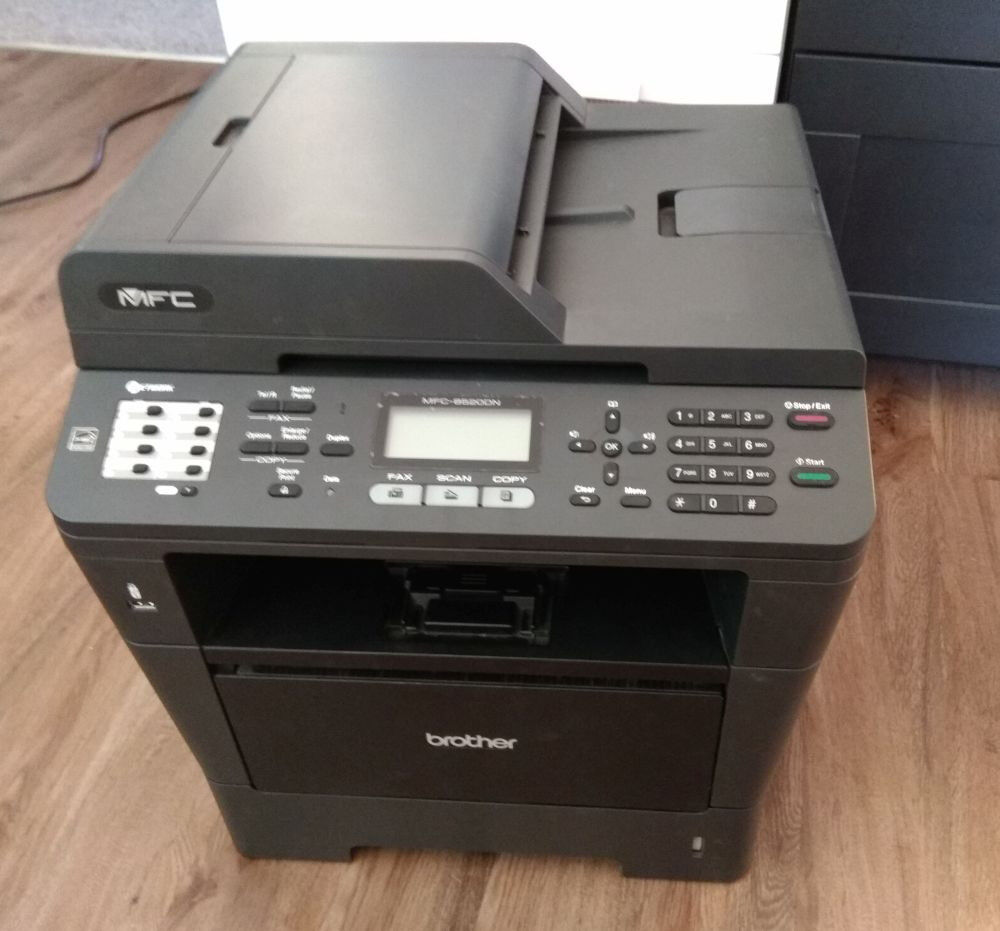 Brother MFC-8520DN MonoLaser - Fax / copier / printer