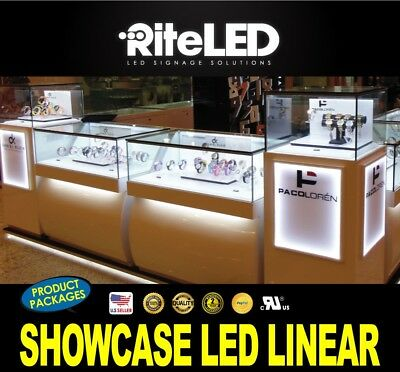 1 Ft Showcase Display Cabinet Linear 6000k Led Light