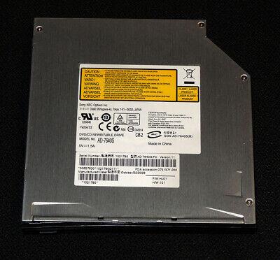 SONY NEC Optiarc AD-7640S Slot in DVD RW Brenner