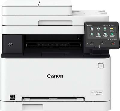 Canon - Color imageCLASS MF634Cdw Wireless Color All-In-One Printer - White