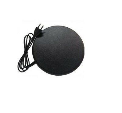 Geflügel Tränkenwärmer flach 19cm  Wärmeplatte,Taubentränken Farbe schwarz (Taube Platte)