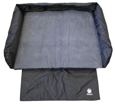 Alcott Premium Dog Puppy Car Boot Bed - X Large - Washable - Bumper Protection ()