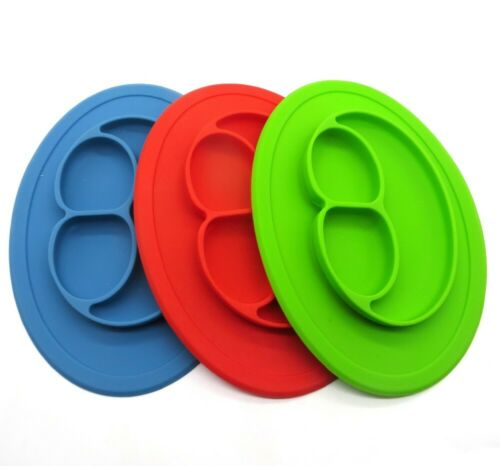 Wholesale Lot 10 Silicone Suction Placemat Place Self Feeding Training New