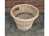 Wood Log Basket for Fireside - Free To Collector