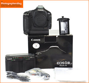 Camara-SLR-Canon-EOS-1D-Digital-16MP-D-IV-Bateria-y-Cargador-Free-UK-Post