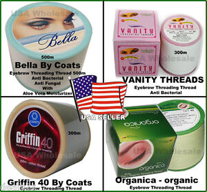 Choose-Eyebrow-Threading-Thread-Vanity-Griffin-ORGANIC-BELLA-ORGANICA-USA-SELLER