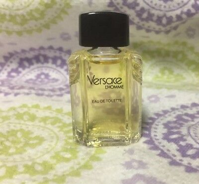 Versace L'Homme EDT Splash Mini For Men New