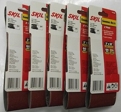 Skil 3 x 18 Sanding Belts 5-2Packs ...