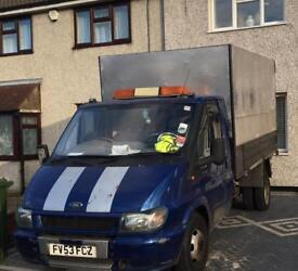 Ford transit tipper t350 drives very well