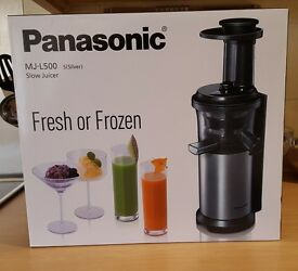 Brand new in box - PANASONIC MJ-L500SXC Juicer - Silver