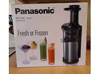 Brand new in box - PANASONICMJ-L500SXC Juicer - Silver