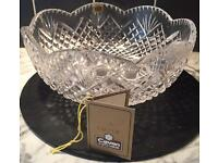 BN Cavan Irish Crystal Hand-Cut Bowl