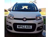 Fiat Panda Lounge - 1.2 Petrol - White - 62 Plate - Low Mileage - £30 Tax