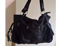 Ladies Black Shoulder Handbag - Excellent Unused Condition ** NOW £3 NEED GONE **