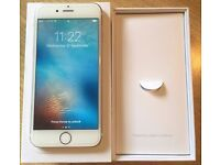 iPhone 6 16GB Gold Factory unlocked to all networks, boxed and in great condition!