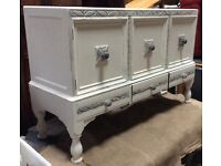 White And Grey Sideboard
