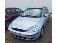 Ford Focus in Foxy Silver Colour