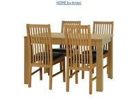 BRAND NEW DINNING TABLE with chairs